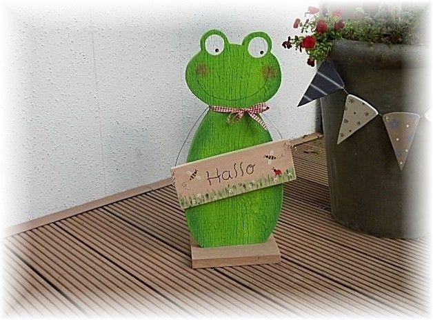 *Frosch - König* aus Massivholz von CHRISSIMO auf DaWanda ...