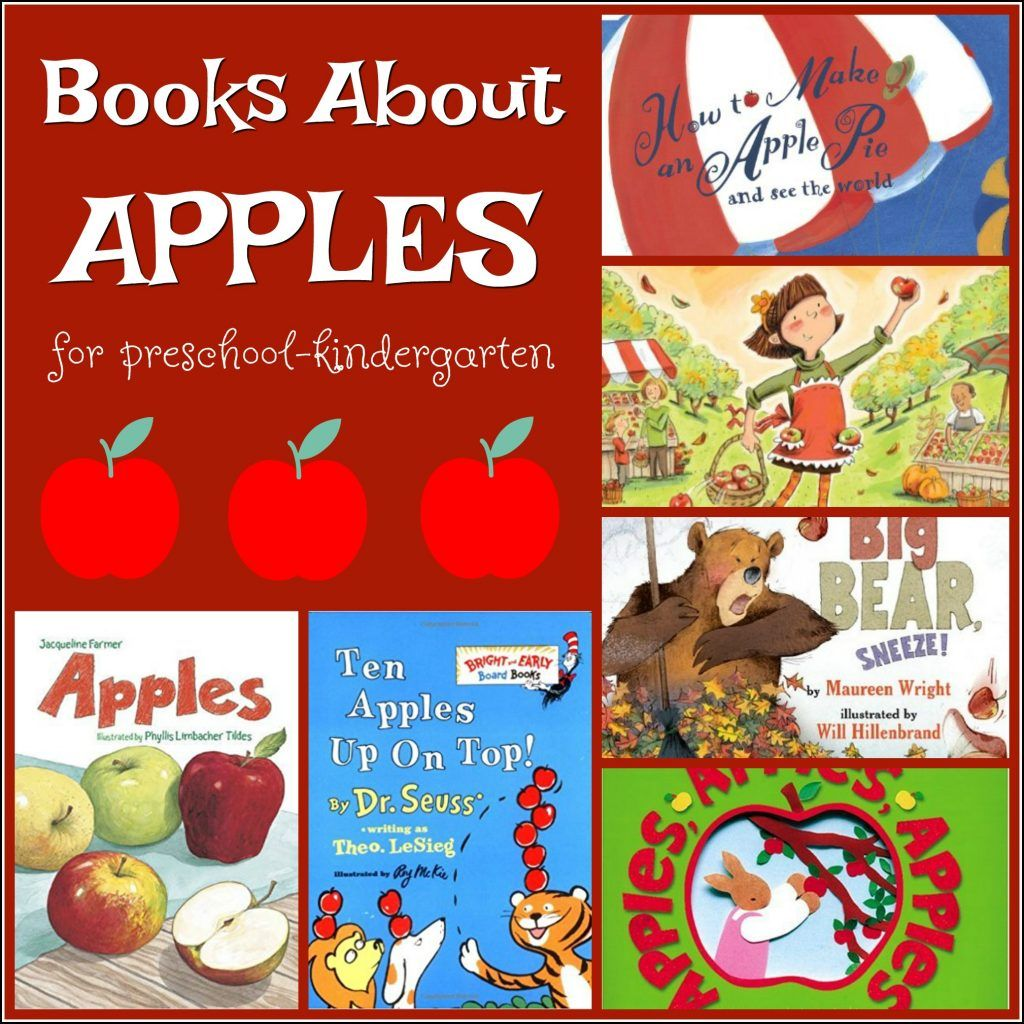 Kindergarten Homeschool September Unit Apples