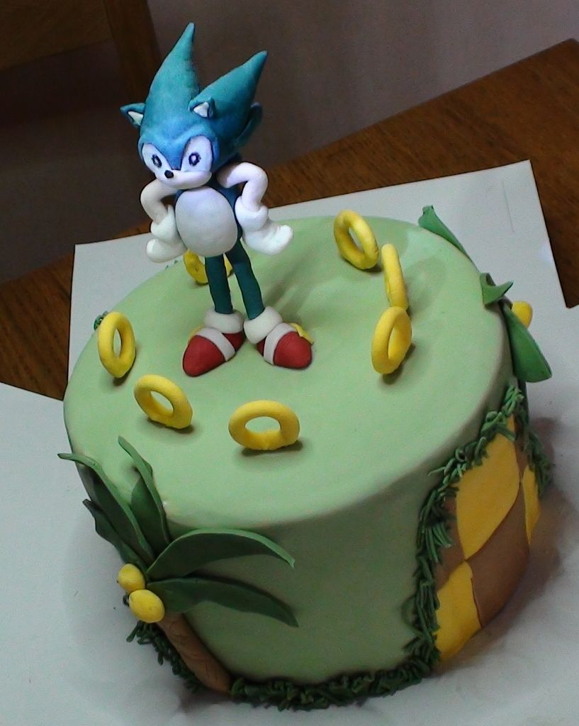 G cake sonic the hedgehog sonic the hedgehog cake