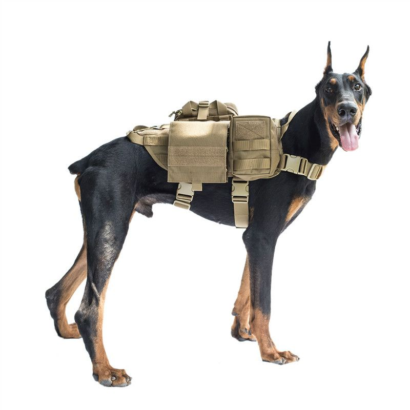 Hunting Outdoor Tactical Military Dog Training Molle Vest