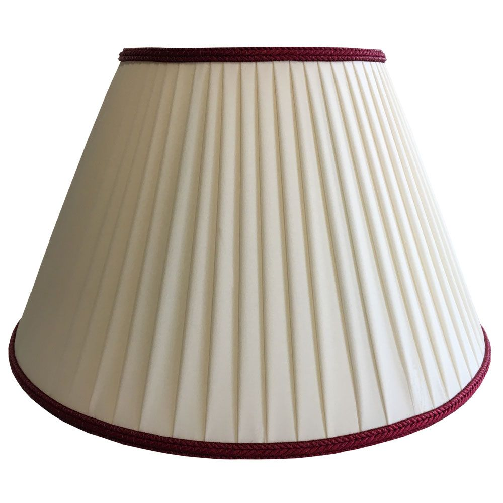 Ribbon Wrapped Lampshade With Trim Modern Lamp Shades Traditional Lamp Shades Lamp Shade