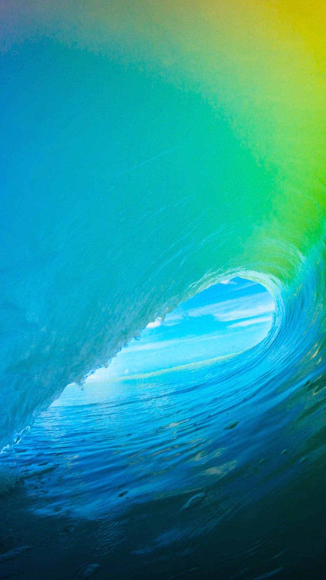 Ios 9 colorful surf wave iphone 6 hd wallpaper iphone - Hd supreme iphone wallpaper ...