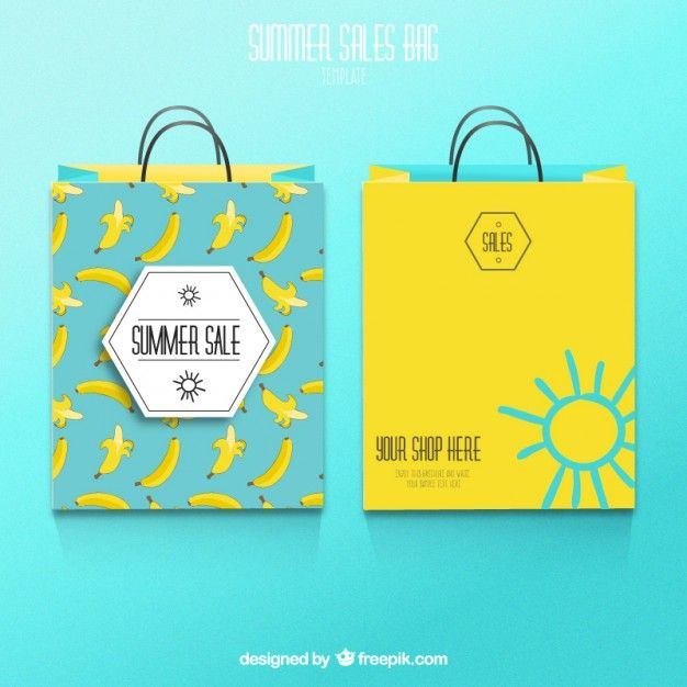 Download Summer Sale Shopping Bags Bag Illustration Shopping Sale Vector Free