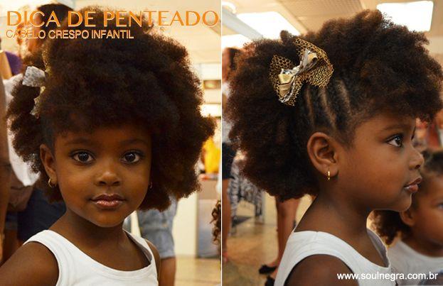 Cabelo Crespo Infantil Carolinahelena Penteados Afro