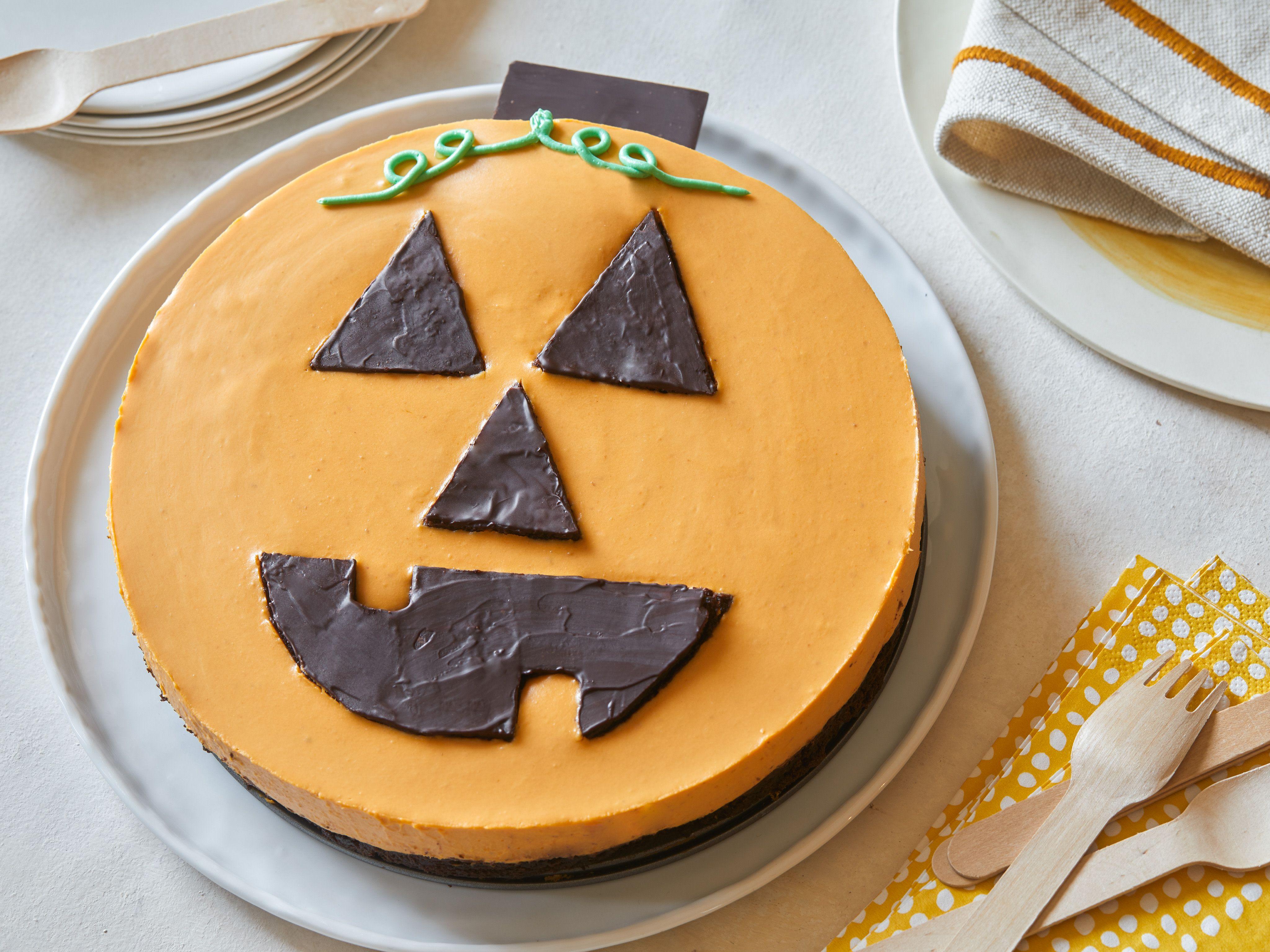 Halloween Cheesecake Recipe Food network recipes
