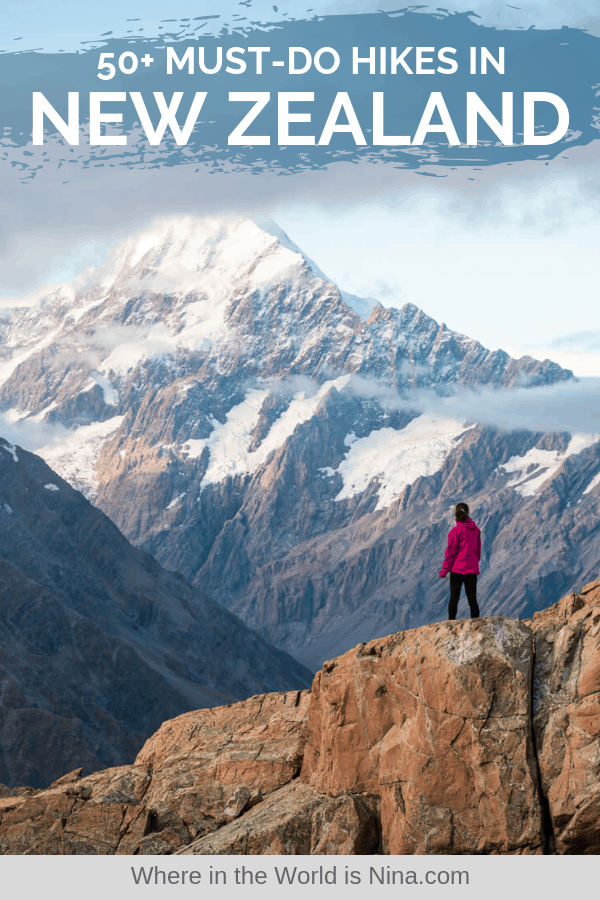 Photo of 50+ of the Best Hikes in New Zealand & Hiking Tips