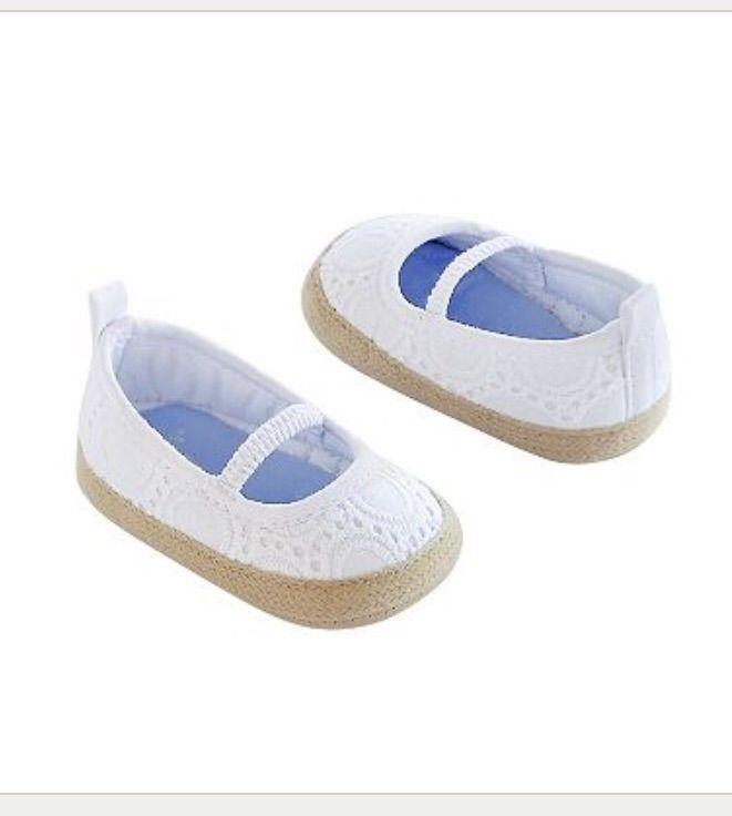 Carters Espidrille newborn shoe