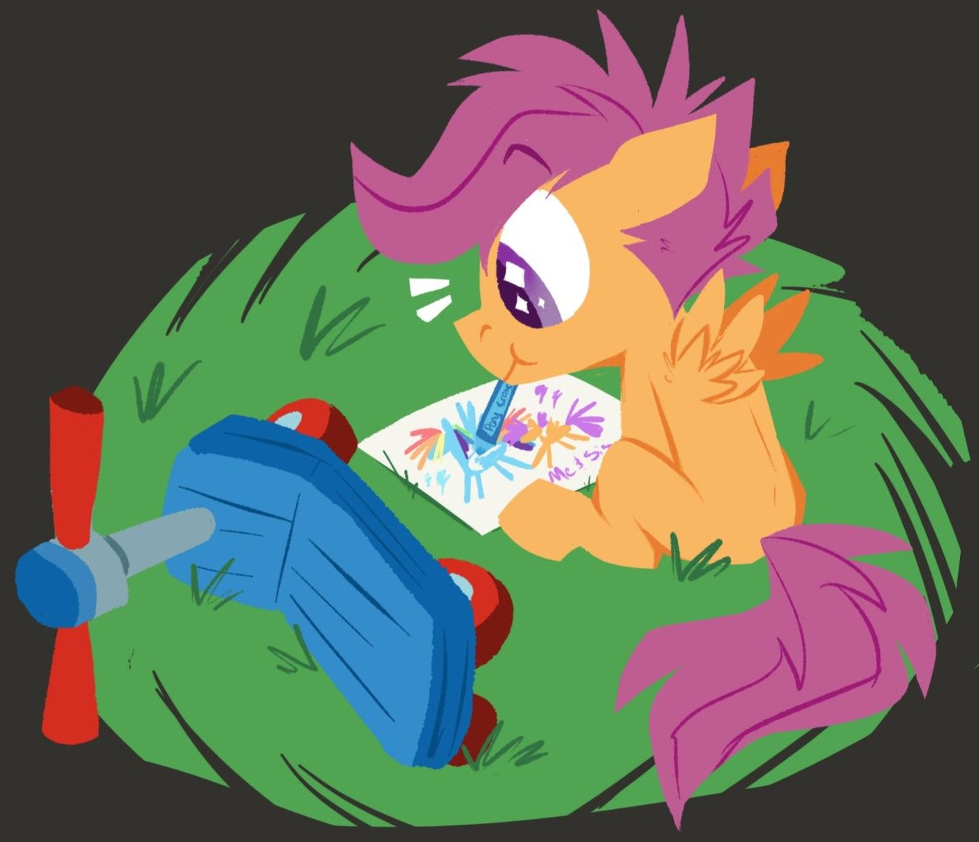 Rainbow Dash And Scootaloo Drawn By Klhpyro Bronibooru In 2020 Mlp My Little Pony Rainbow Dash Character Art For most of your scootaloo needs. pinterest