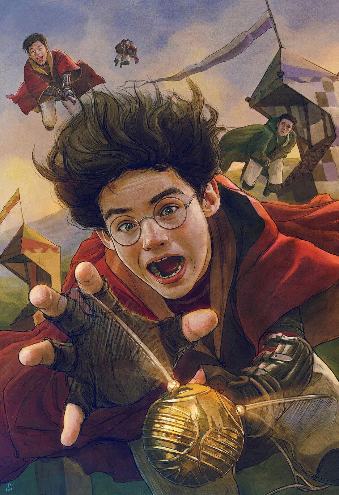 Harry Potter and the Philosopher's Stone-FanArt-16, Vladislav Pantic