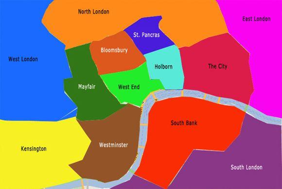 Image result for london map neighborhoods | london | Pinterest ...