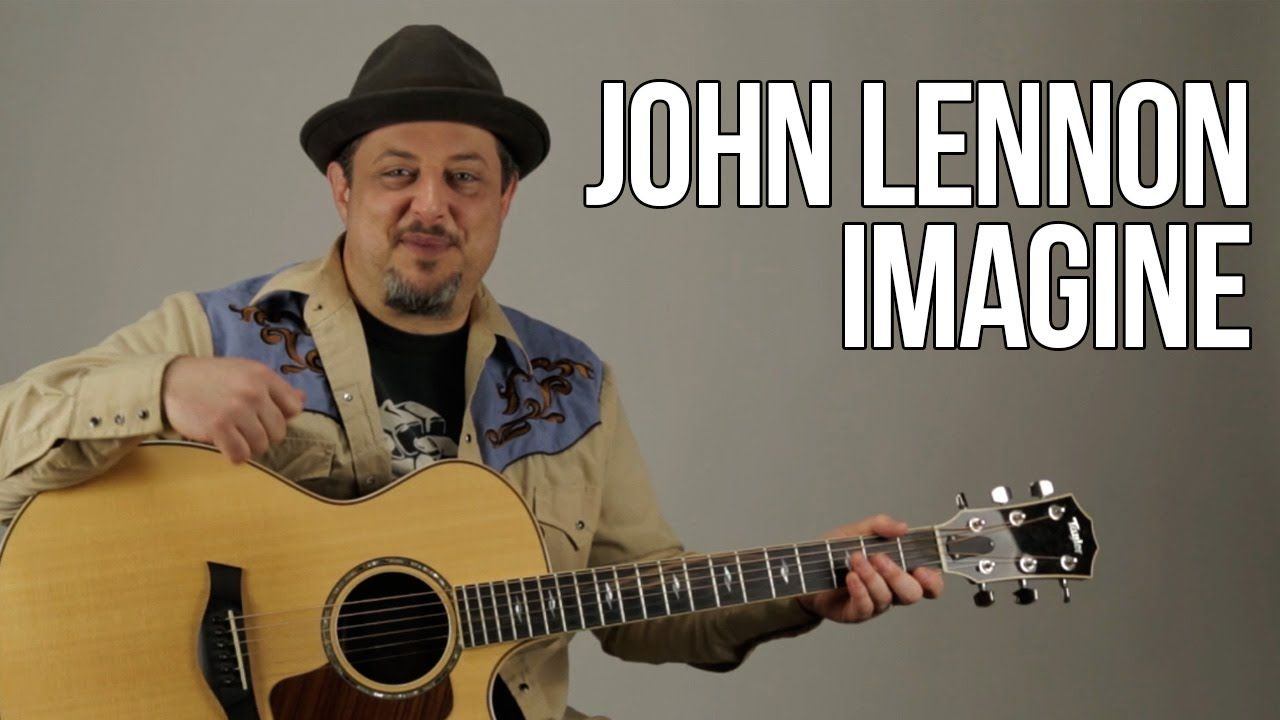 How To Play Imagine By John Lennon On Guitar Acoustic Guitar