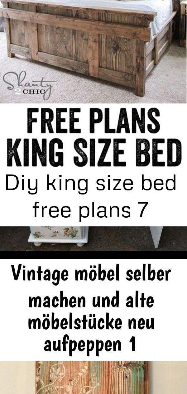 Diy King Size Bett Free Plans 7 Mobel Diy Kingsizebed Free