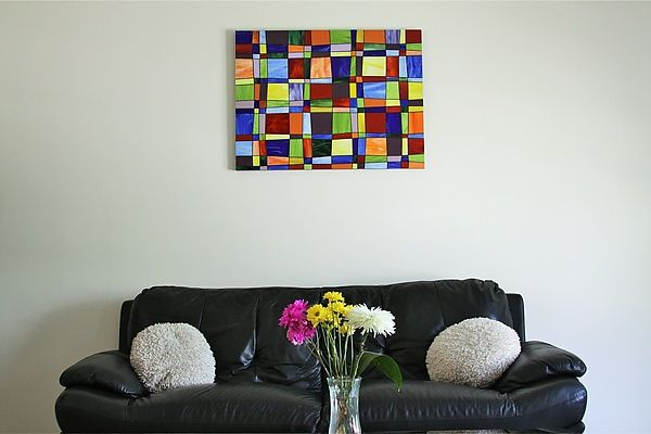 Glass Quilt by Gerald Davidson: Art Glass Wall Art available at www.artfulhome.com