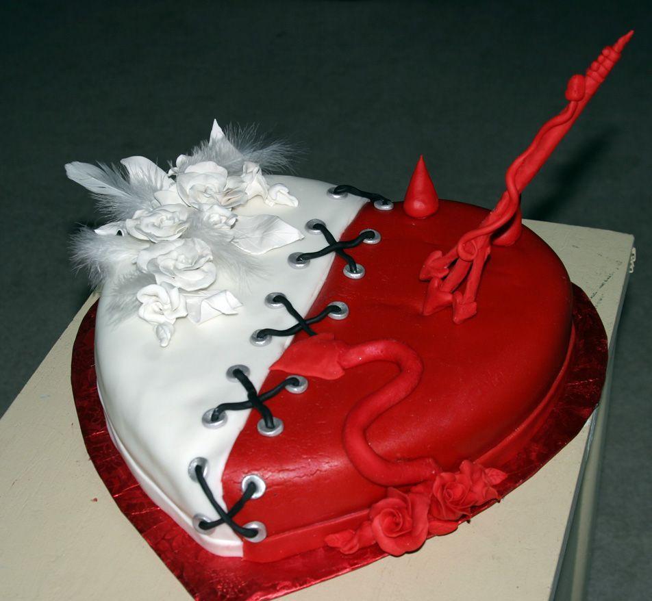 naughty or nice bridal shower theme naughty and nice cake bridal shower