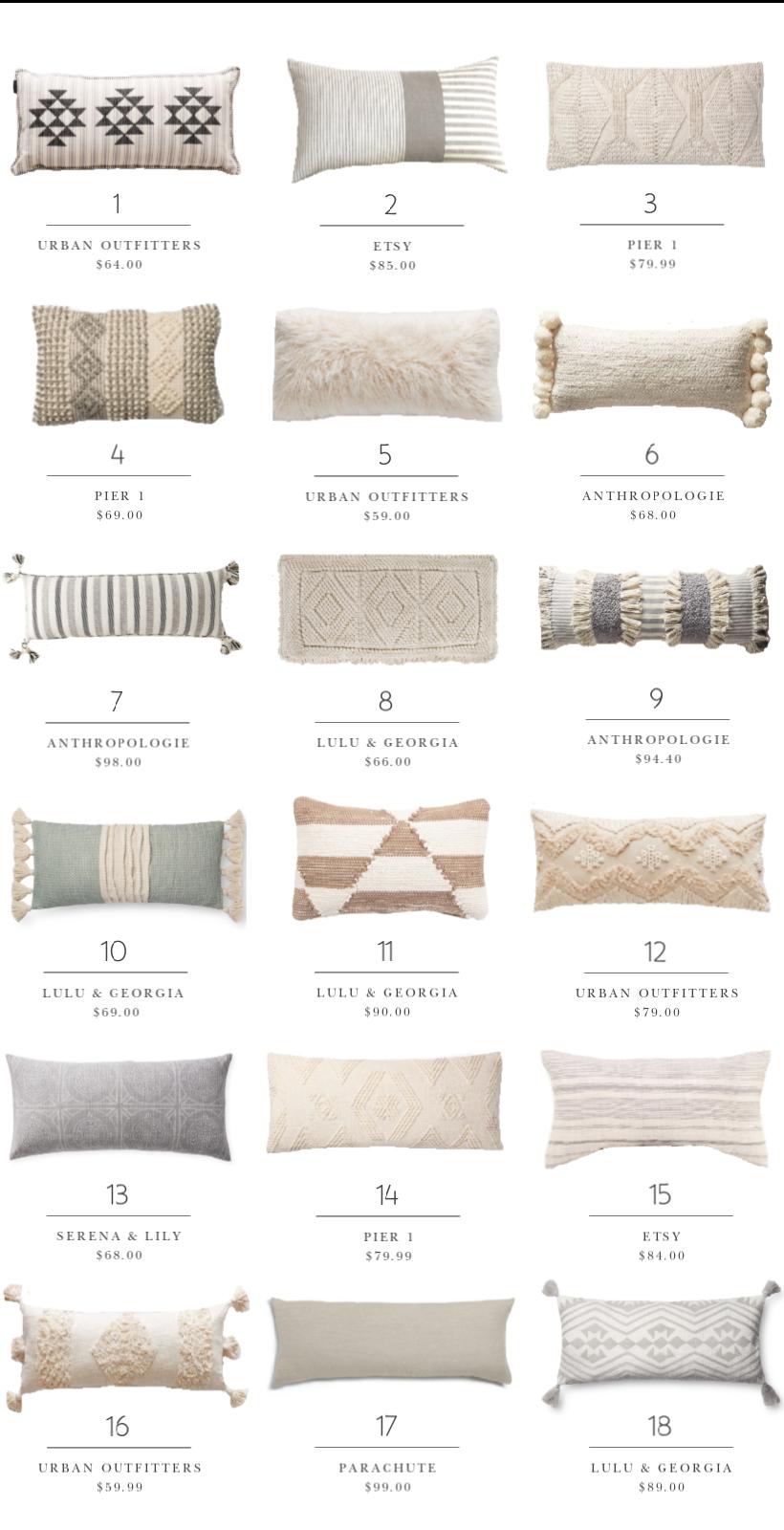 Decorating Essentials Lumbar Pillows Love Grows Wild Throw Pillows Living Room Pillows Euro Pillows