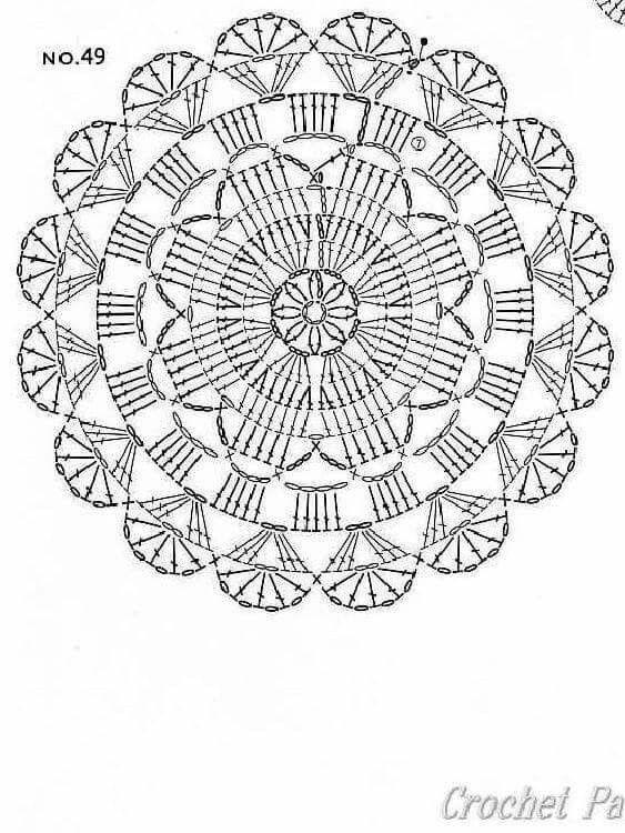 Pin von Marianne Burgess auf doilly   Pinterest   Deckchen ...