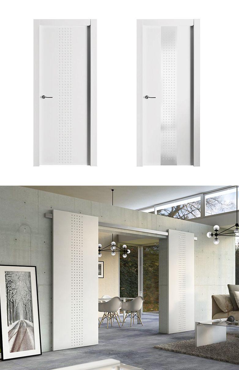 Puerta aura puertas puertas interiores lacar puertas for Lacar puertas en blanco