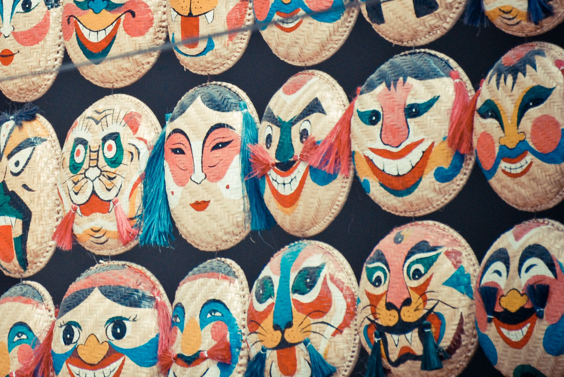 Mask for sale at Street of Hanoi