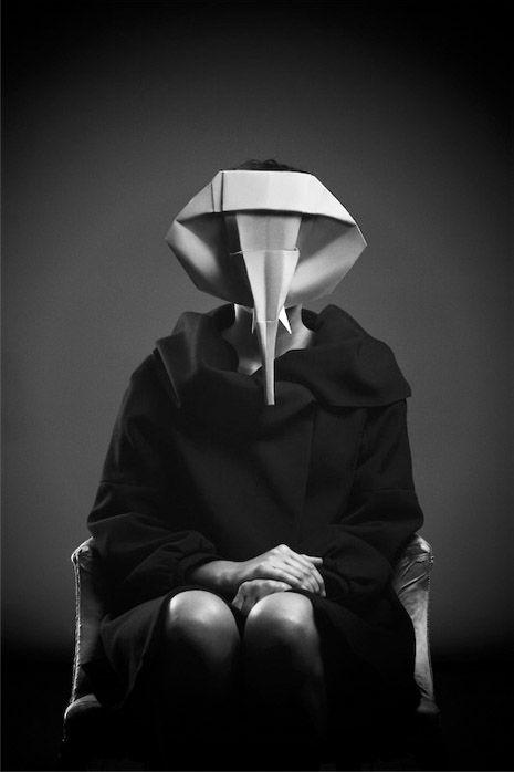 Photo of Photographs of Origami Animal Masks | Make: