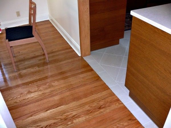 Two Tone Floor Laminate And Tile