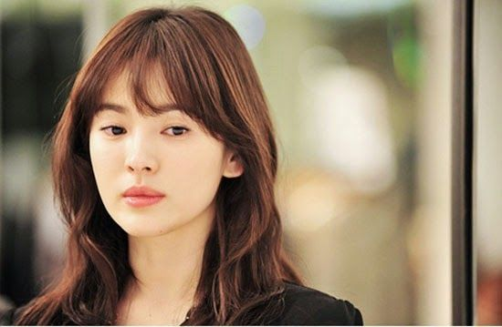 korean celebrity with bangs - Google Search