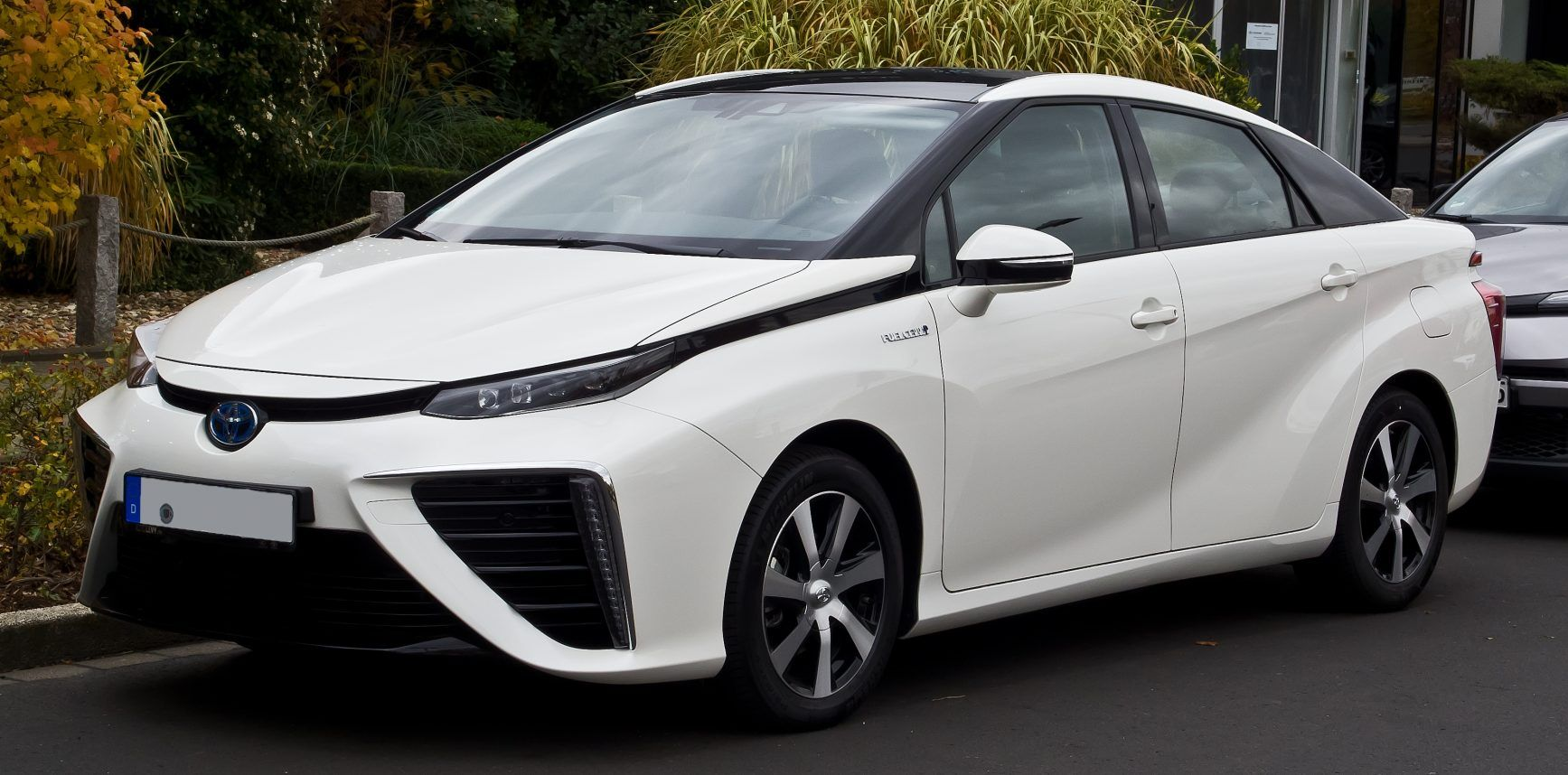 The Toyota Mirai is a fuelcell vehicle which initially