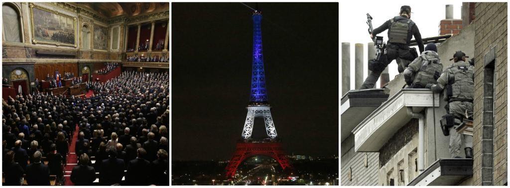 """Hollande alle Camere: """"La Francia è in guerra"""" (Video) Preso a Bruxelles l'artificiere che ha armato i kamikaze"""
