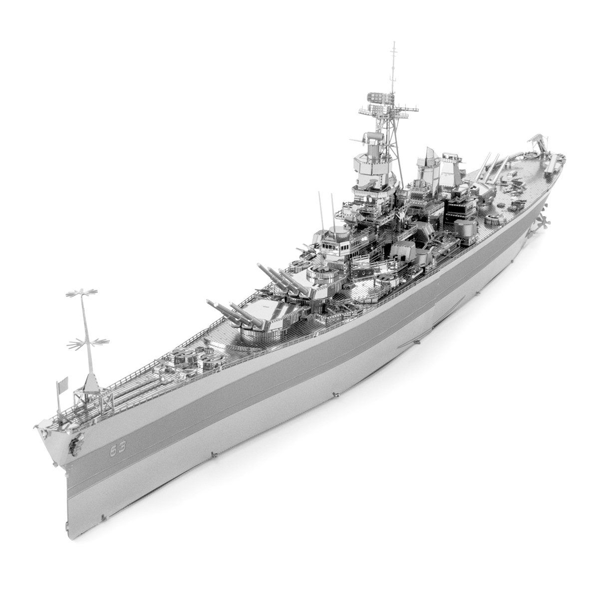 USS Arizona Battleship Metal Earth 3D Model Kit FASCINATIONS