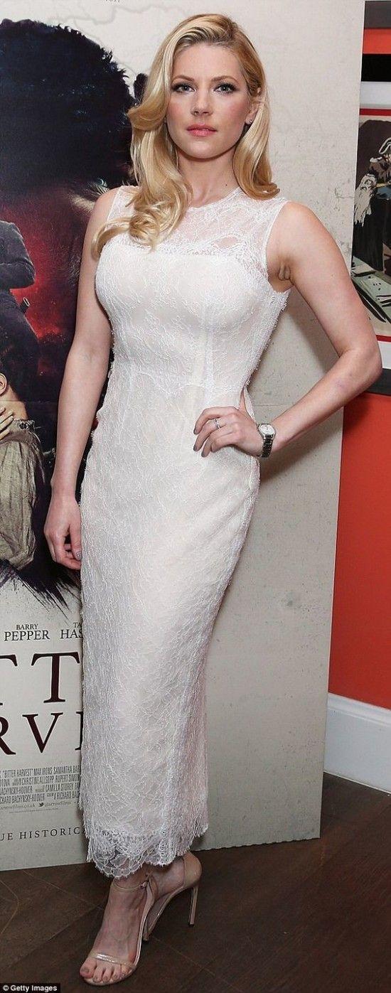 Katheryn Winnick la Rubia de Vikings Entra y deleitate | Celebrity dresses, Katheryn winnick ...