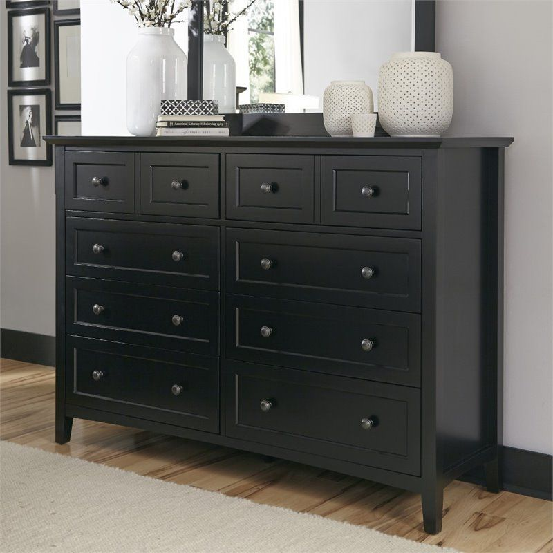 Modus Paragon 8 Drawer Dresser In Black Eric S Room