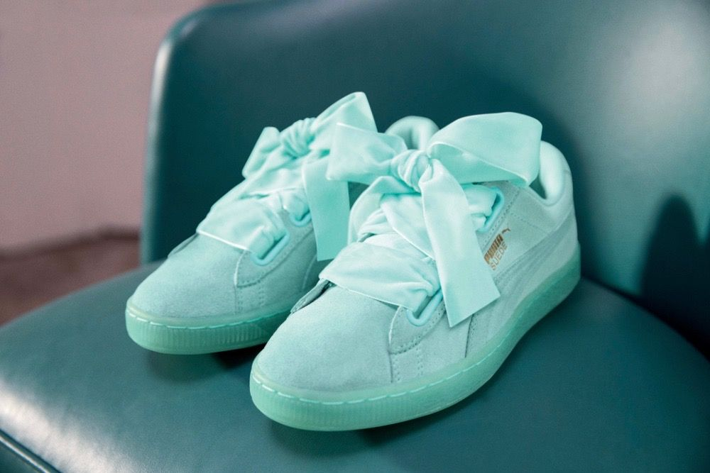 Puma x Cara Delevingne Suede Heart Collection | Casual shoes