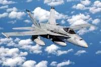 F/A-18 Hornet landing on carrier in bad weather – Leland Shanle.com