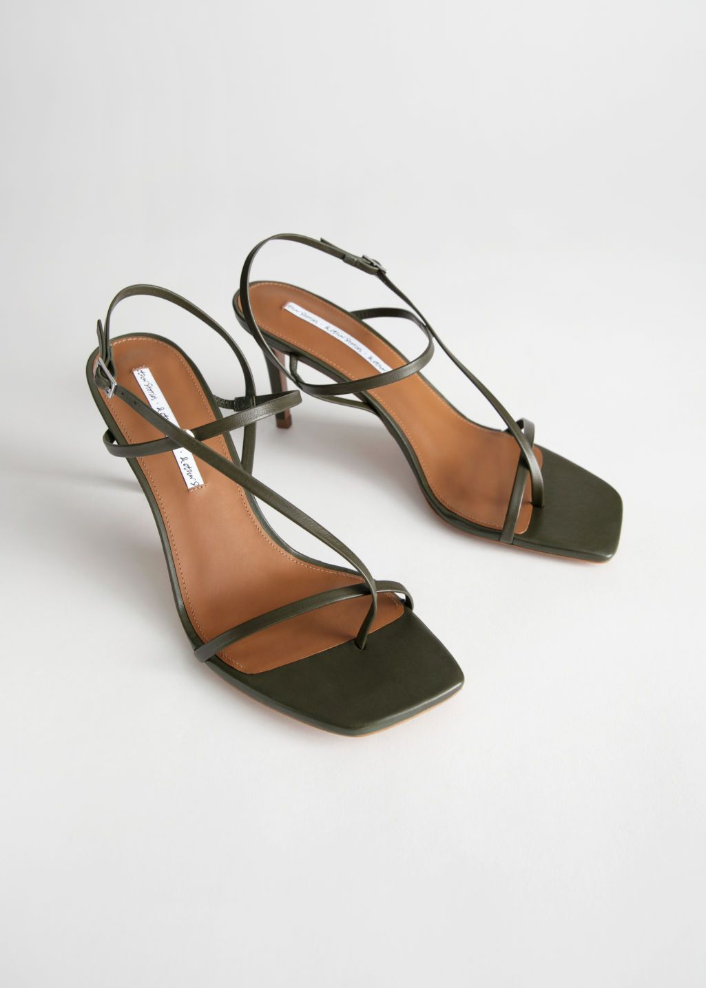 Cross Strap Stiletto Sandals is part of Stiletto sandals -  3