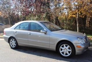 Used 2004 Mercedes Benz C Class C240 4matic Sedan For Sale