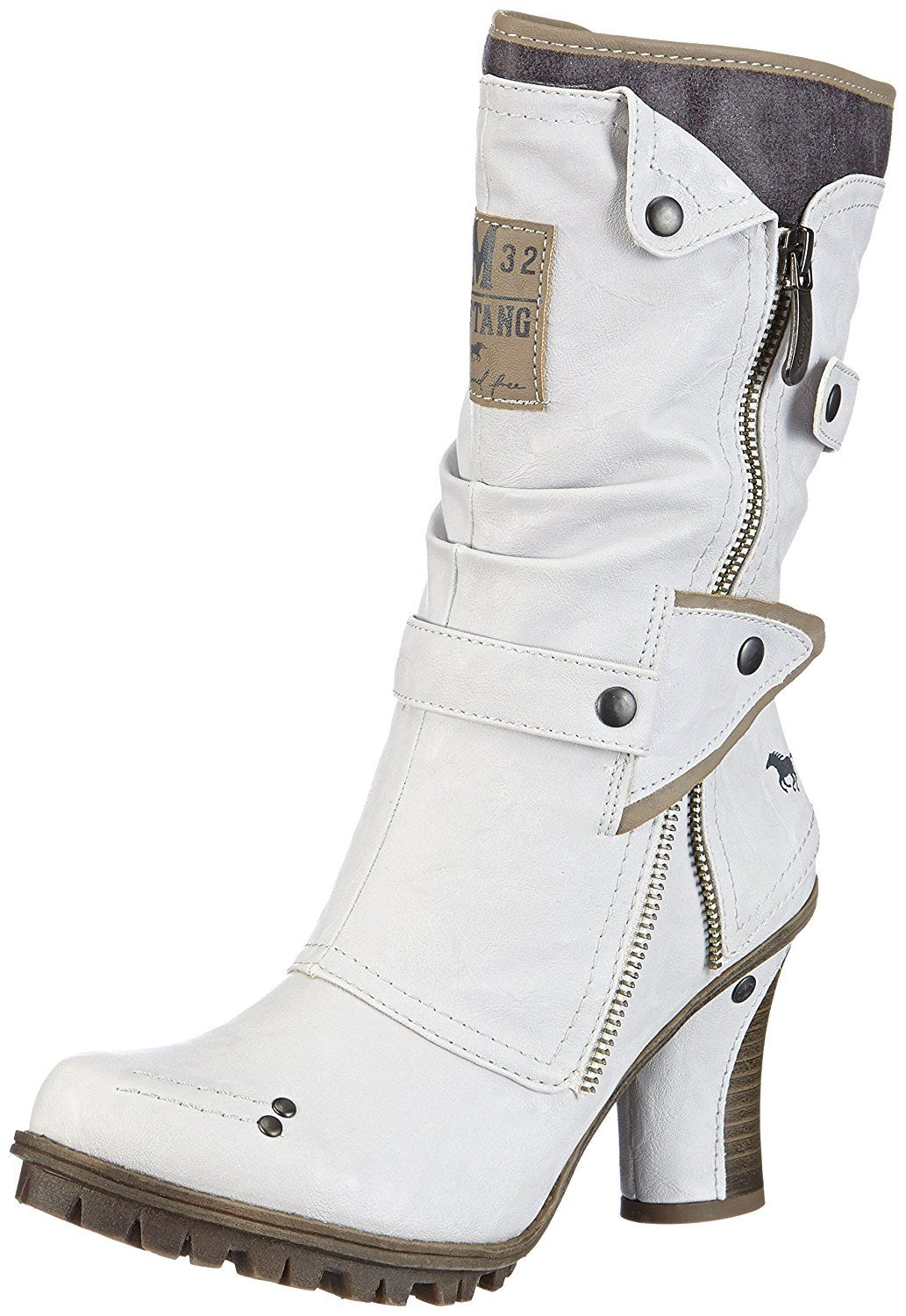 Mustang boots women's 43C 006 (1141 606 100) in 2019 | Boots