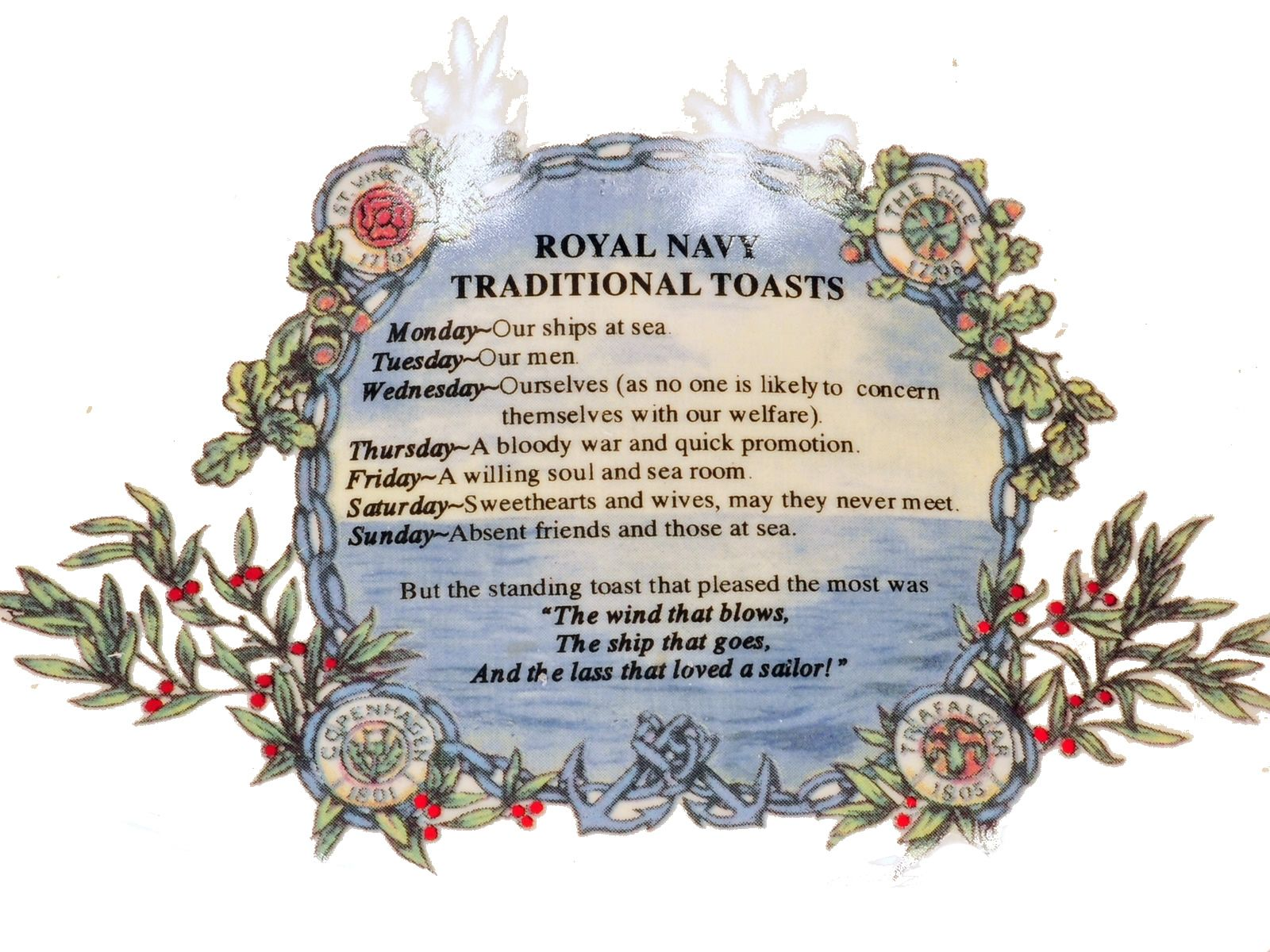 Toasts Of The Royal Navy