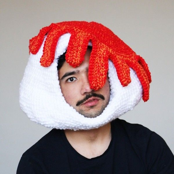 f0a3a1f8fe1e Stay Warm This Winter With These Funny Hats That Look Like Donuts ...