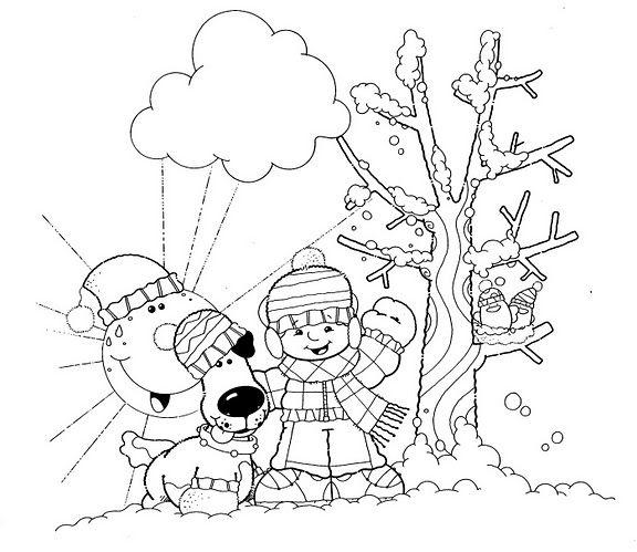 Recursos Y Actividades Para Educacion Infantil Dibujos Para Colorear Del Invierno Dibujos De Invierno Dibujos Actividades De Invierno Para Ninos