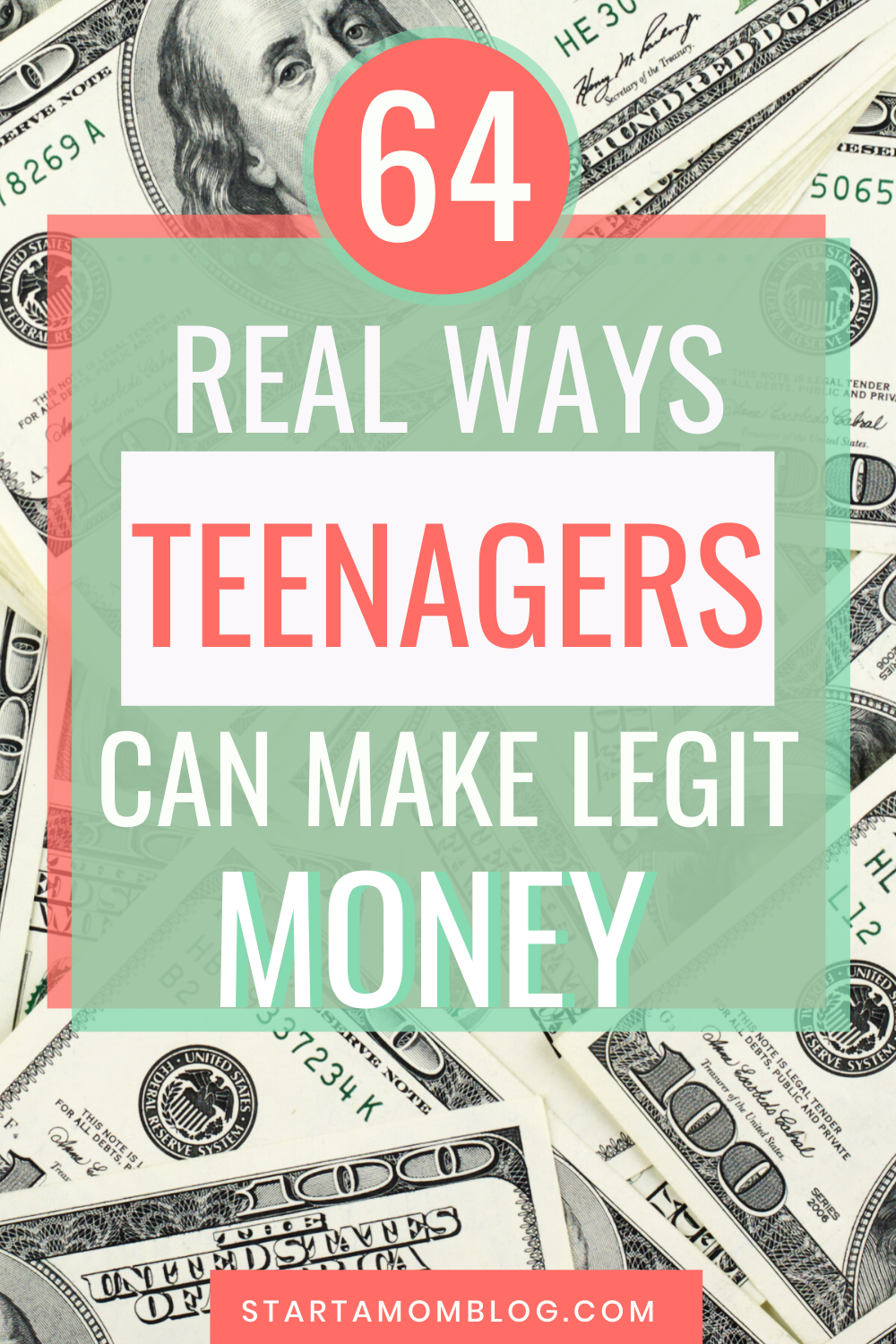 64 Real Ways to Make Money as a Teen: Categorized by Age