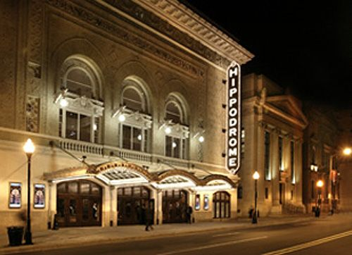 The Hippodrome Theater in Baltimore, built in 1914, closed down in 1990, has been given new life as part of the France-Merrick Performing Arts Center, which combines the theater with two nineteenth century banks and a new building.