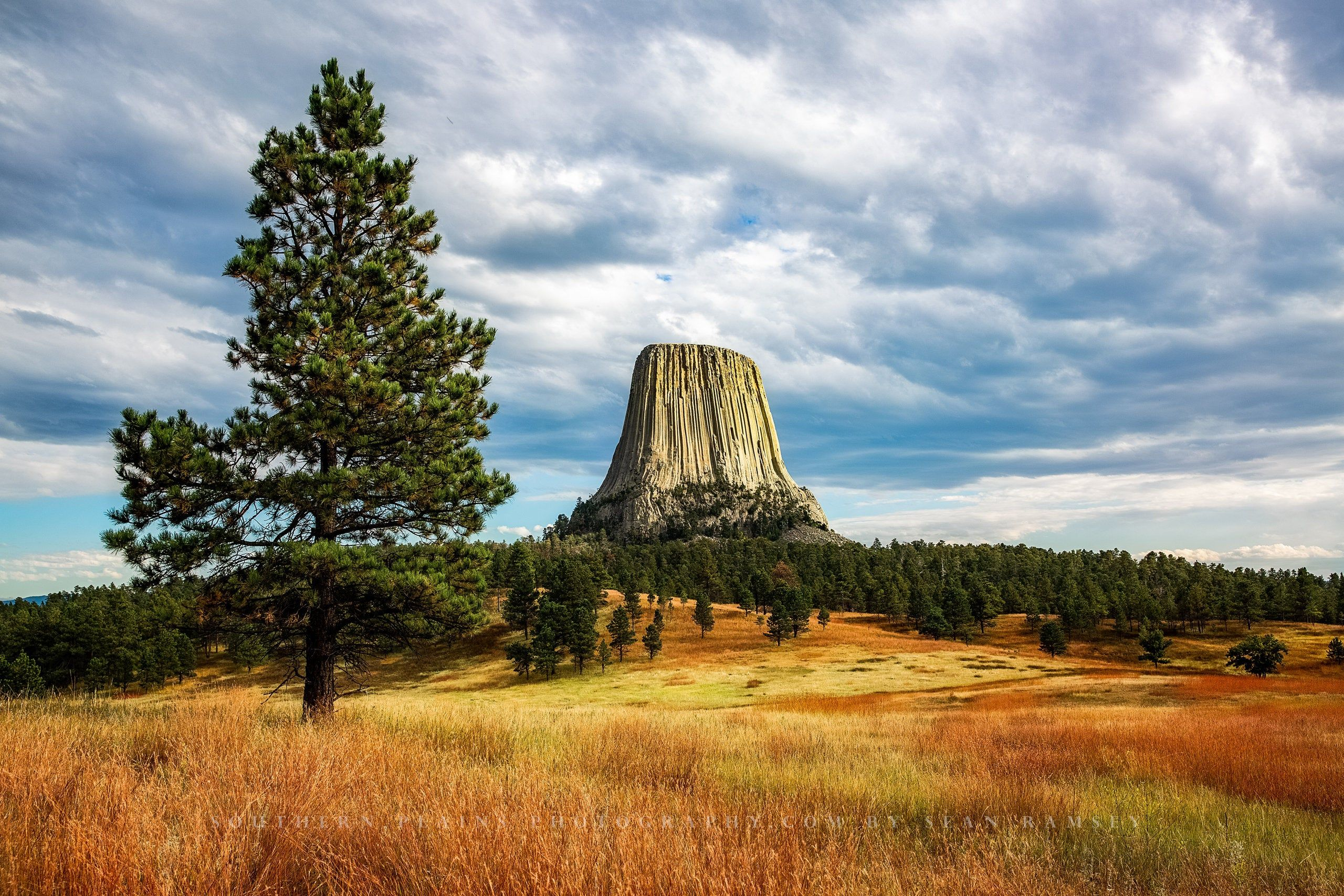Devils Tower Photography Print Wyoming Wall Art Picture Of