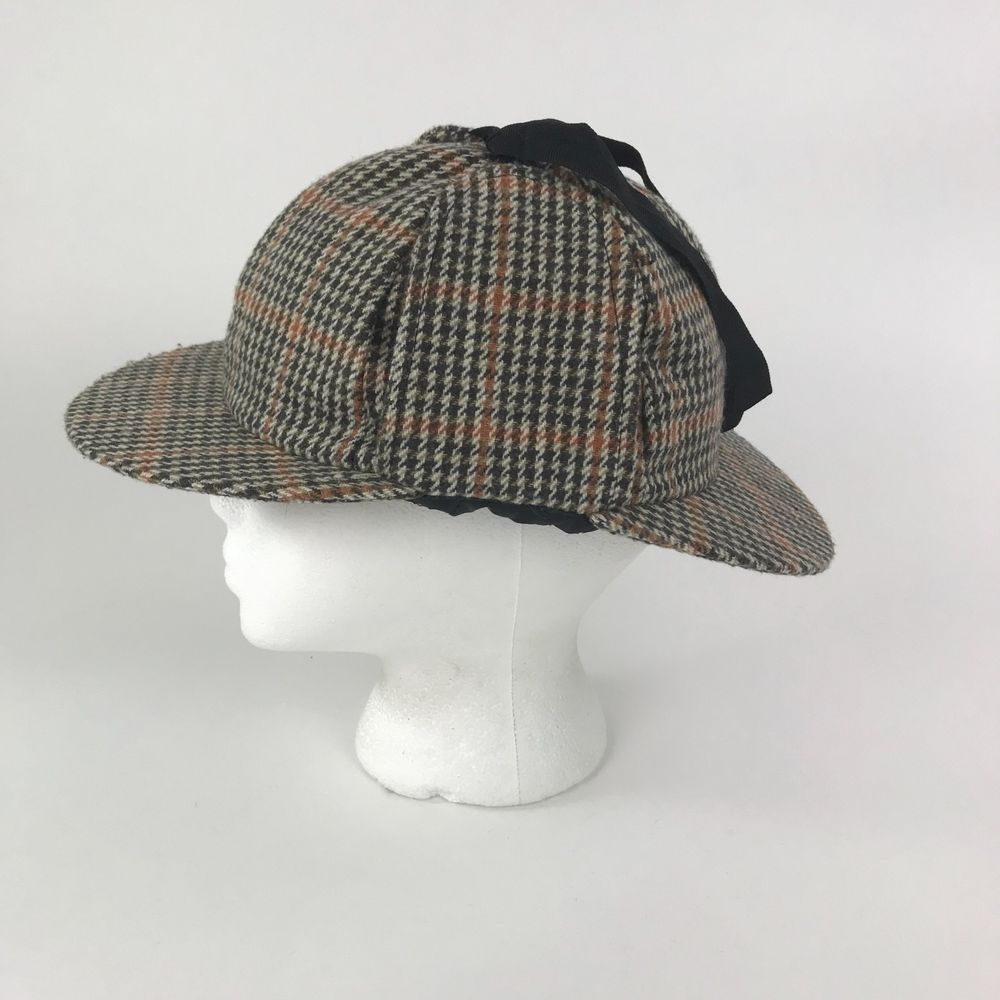 Hawkins Classic Headwear Country Collection Wool Blend UK 58cm Sherlock  Holmes  Hawkins  SherlockHolmesDeerstalker 8e065e384cc