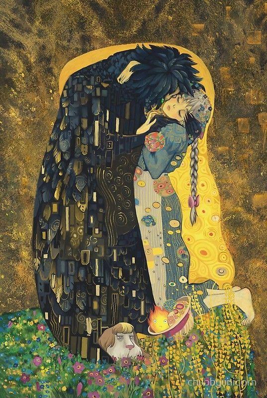 The Kiss: Like Starlight Poster