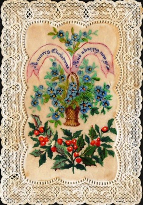 Yahoo voices voicesyahoo vintage embroidered christmas card greeting card christmas victorian 1870 christmas card wikipedia the free encyclopedia m4hsunfo