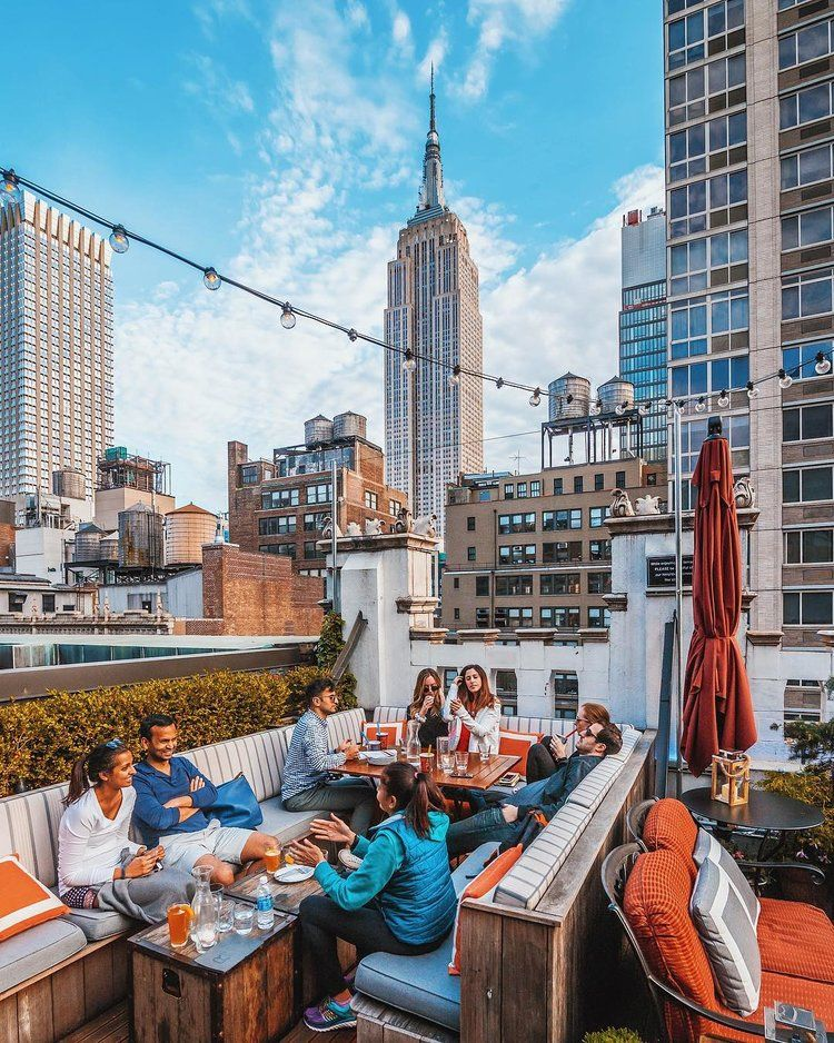 New York City Has So Many Amazing Choices For Rooftop Bars With A View But There Are Some That Stand Above The Rest Whether It S Over Times Square