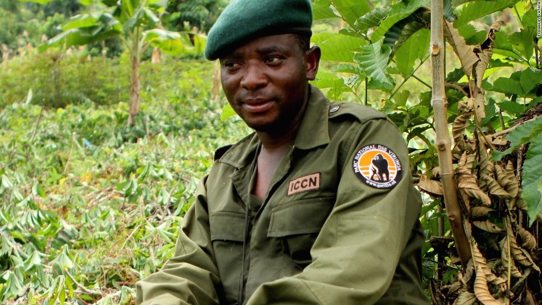 Rodrigue Katembo endured death threats to save mountain gorillas in Virunga, Africa's oldest national park.