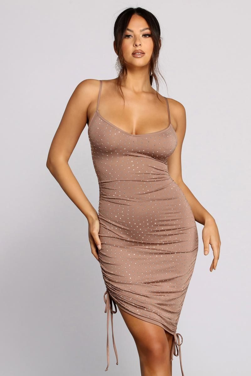 Bringing The Heat Stone Ruched Dress Ruched Dress Dresses Dress Hairstyles [ 1200 x 800 Pixel ]