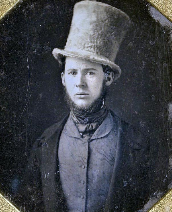 It's not a hat. It's a chapeau. <>--Vintage Photo--<>
