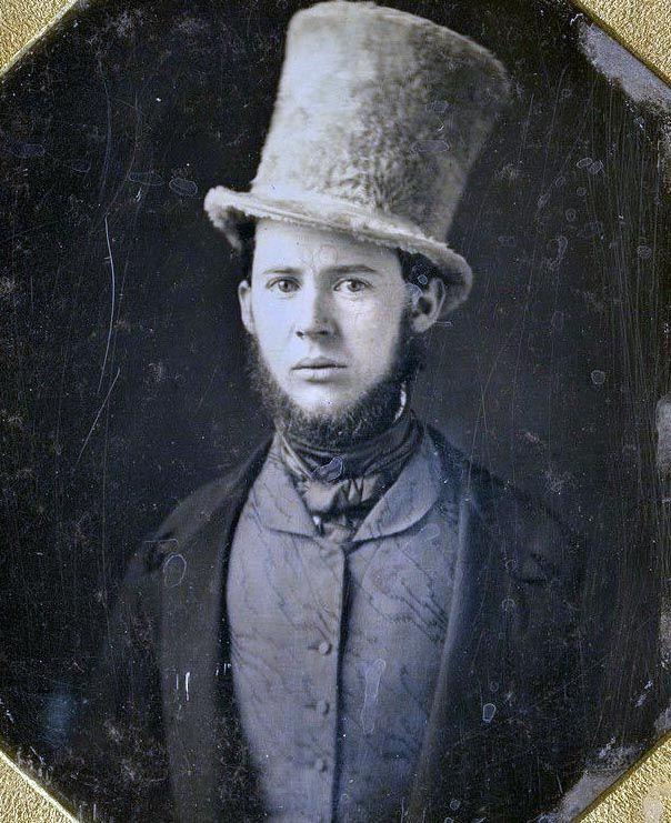 It's not a hat. It's a chapeau. <>--Vintage Photo--<>