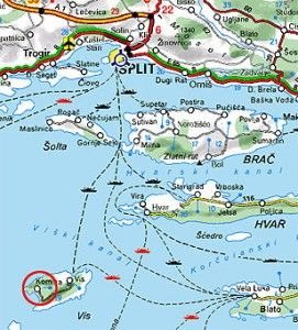 Vis Croatia Check The Ferry Schedule First Or Learn How To Do A Rain Dance Flying North Croatia Dalmatia Croatia Croatia Tourism